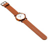 Mr Boho Acetate White Walnut Watch
