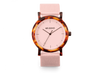 Mr Boho Acetate Flamingo Walnut Watch