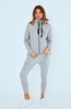 Cartel & Willow Dion Zip Up Jacket Grey Orbit (PRE-ORDER)