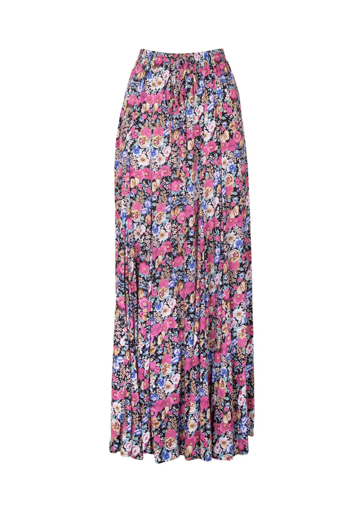 Auguste Super Bloom Panelled Maxi Skirt