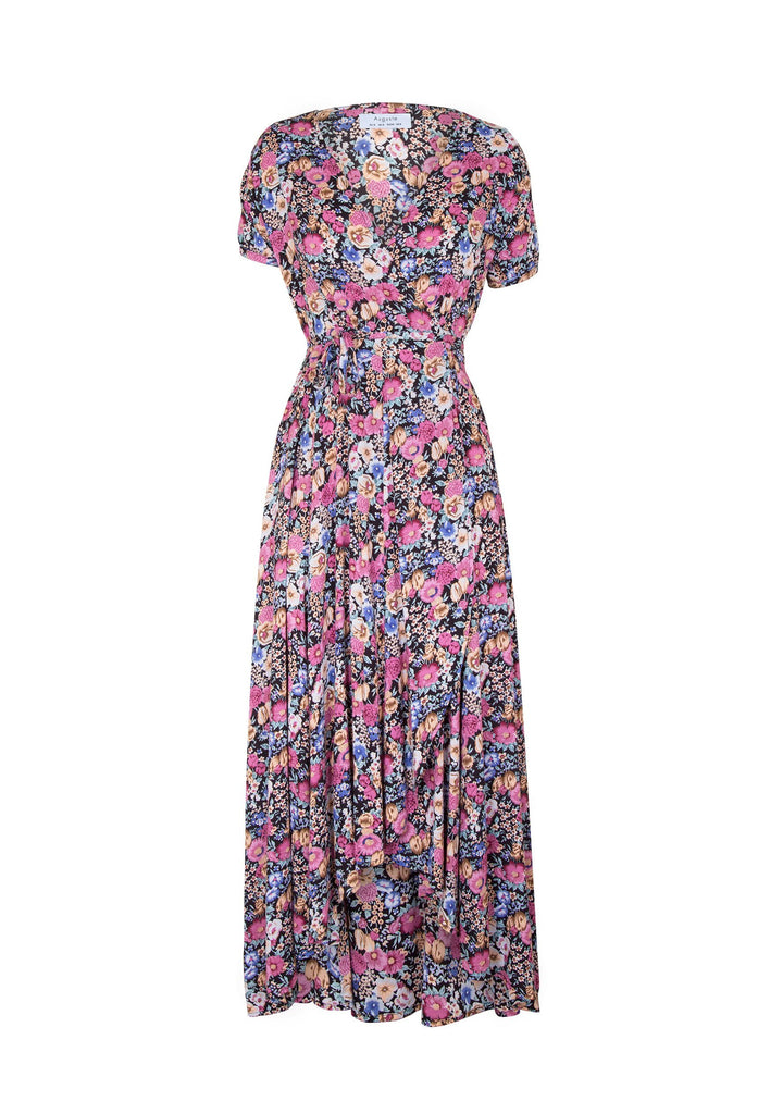 Auguste Super Bloom Valley Wrap Maxi Dress
