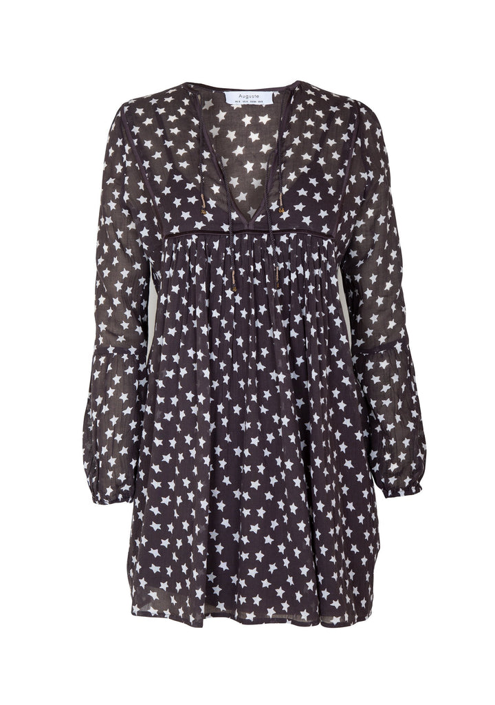 Auguste Manhattan Smock Mini Dress