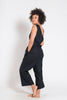 Vege Threads Hemp Wide Leg Jumpsuit