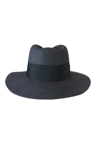 AOS Oxford Felt Fedora Steel