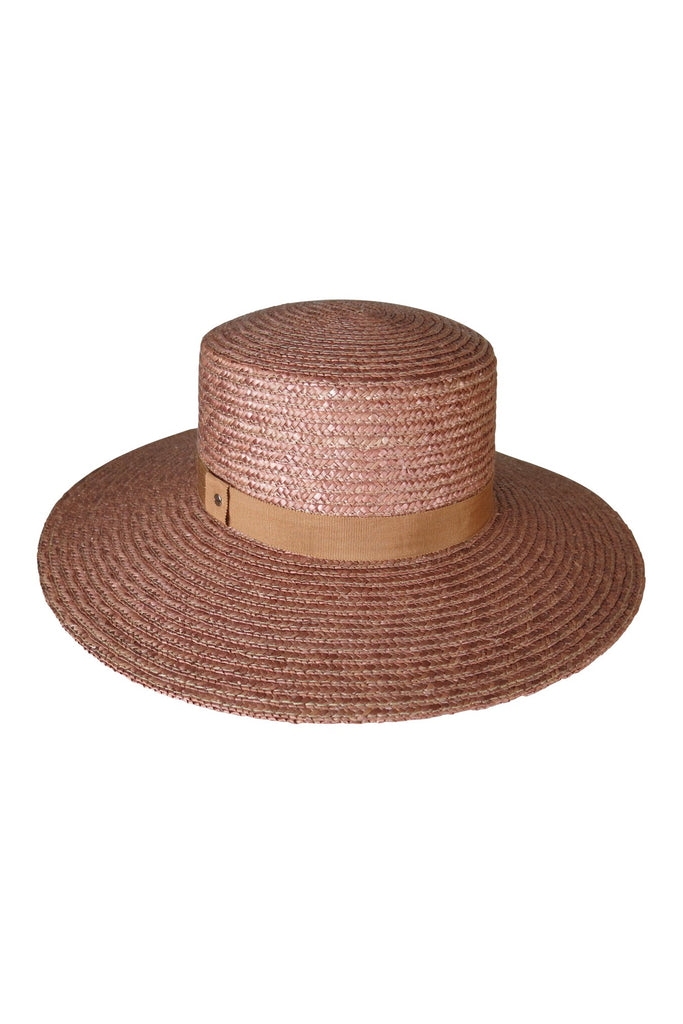 AOS Vicenza Nutmeg Straw Boater