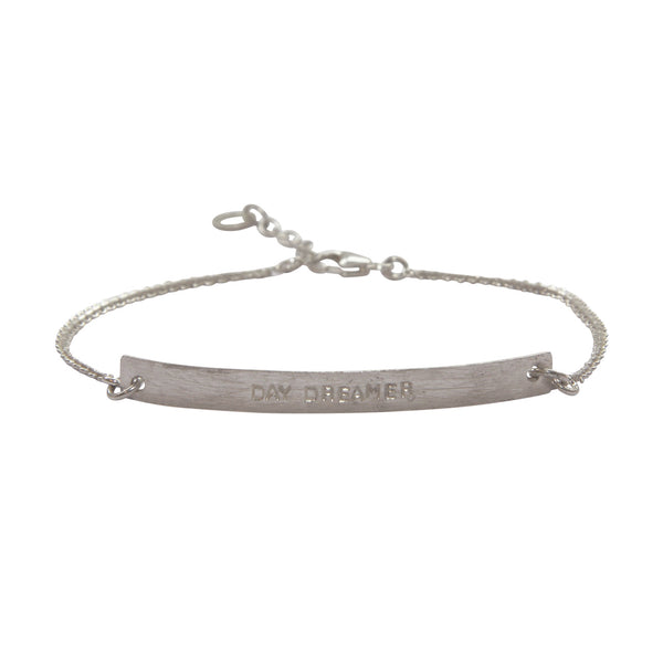 A Beautiful Story - Flow Day Dreamer Silver Bracelet