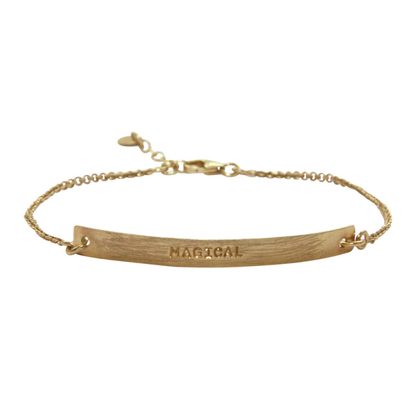 A Beautiful Story - Flow Magical Gold Bracelet
