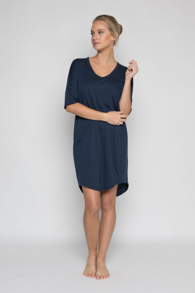 Annukka Riley Organic Navy Dress