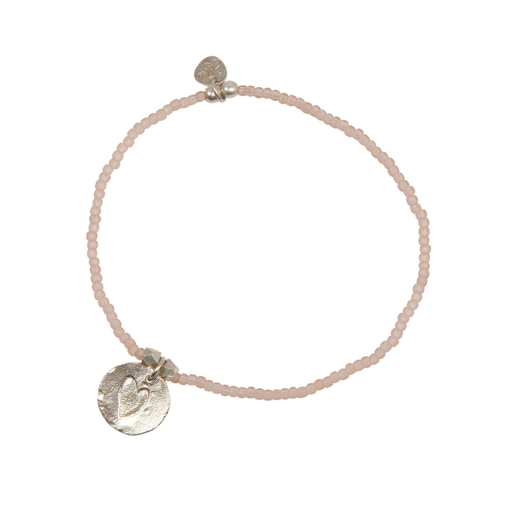 A Beautiful Story - Wonder Heart Silver Bracelet