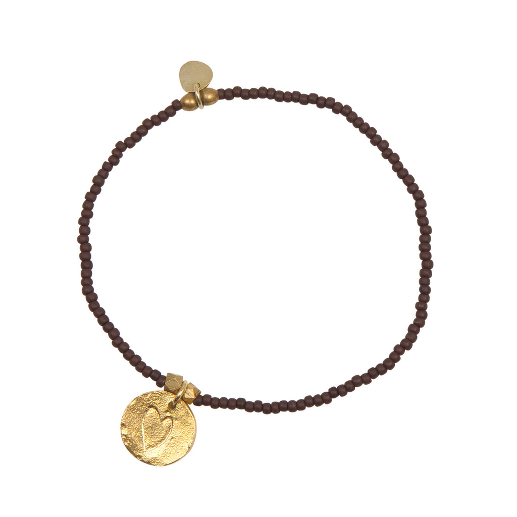 A Beautiful Story - Wonder Heart Gold Bracelet