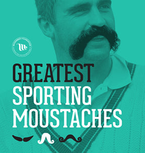 Greatest Sporting Moustaches Book