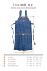Foundling Butchers Apron Dress