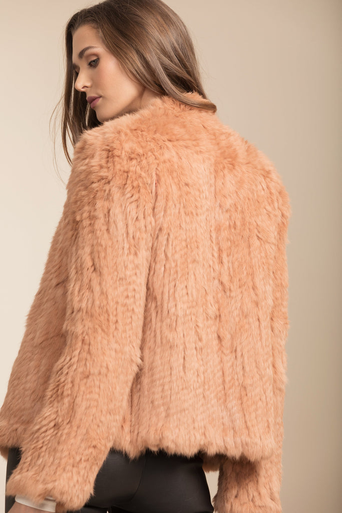 Bubish Coletta Fur Jacket Rust
