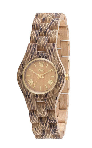 Criss Ltd. Wood Watch Python