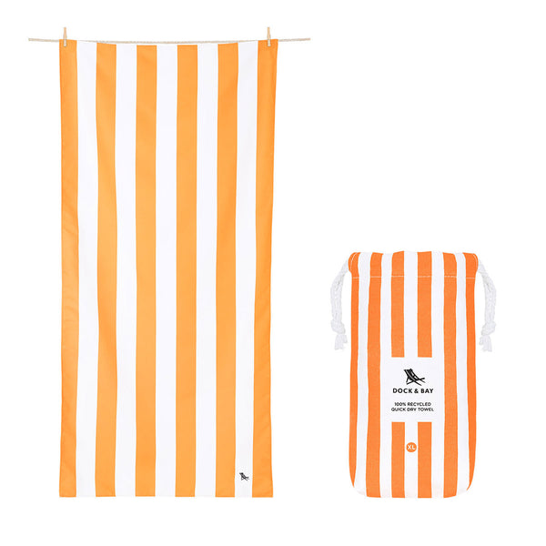 Dock & Bay Beach Towel XL Orange