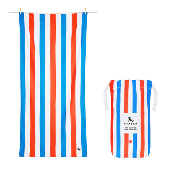 Dock & Bay Beach Towel XL Poolside Parties