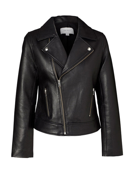 Ena Pelly The Essential Jacket Black (Silver Hardware)