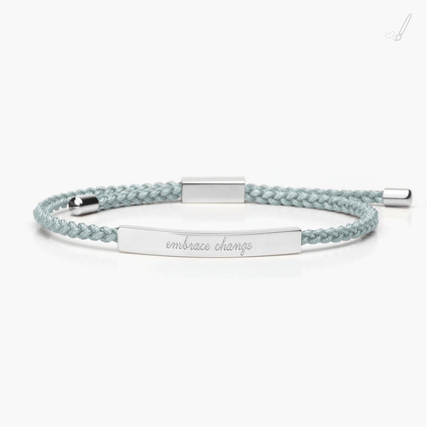 tmc - Reminder Braid - Embrace Change Silver - Sage