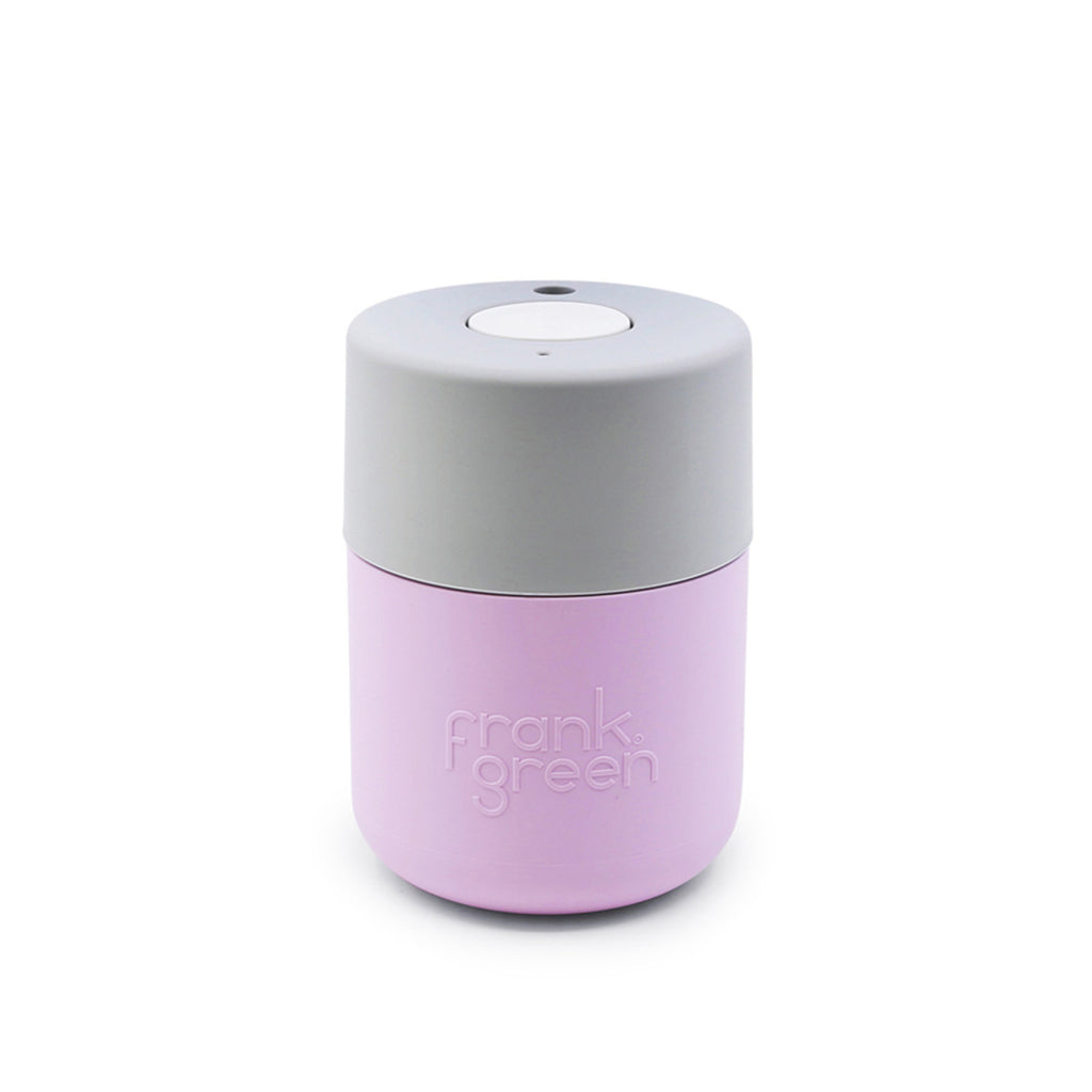 Frank Green Smart Cup 8oz - Pink Lavender/Harbour Mist/Coconut Milk