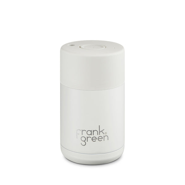 Frank Green Stainless Steel Reusable Cup 10oz Coconut Milk