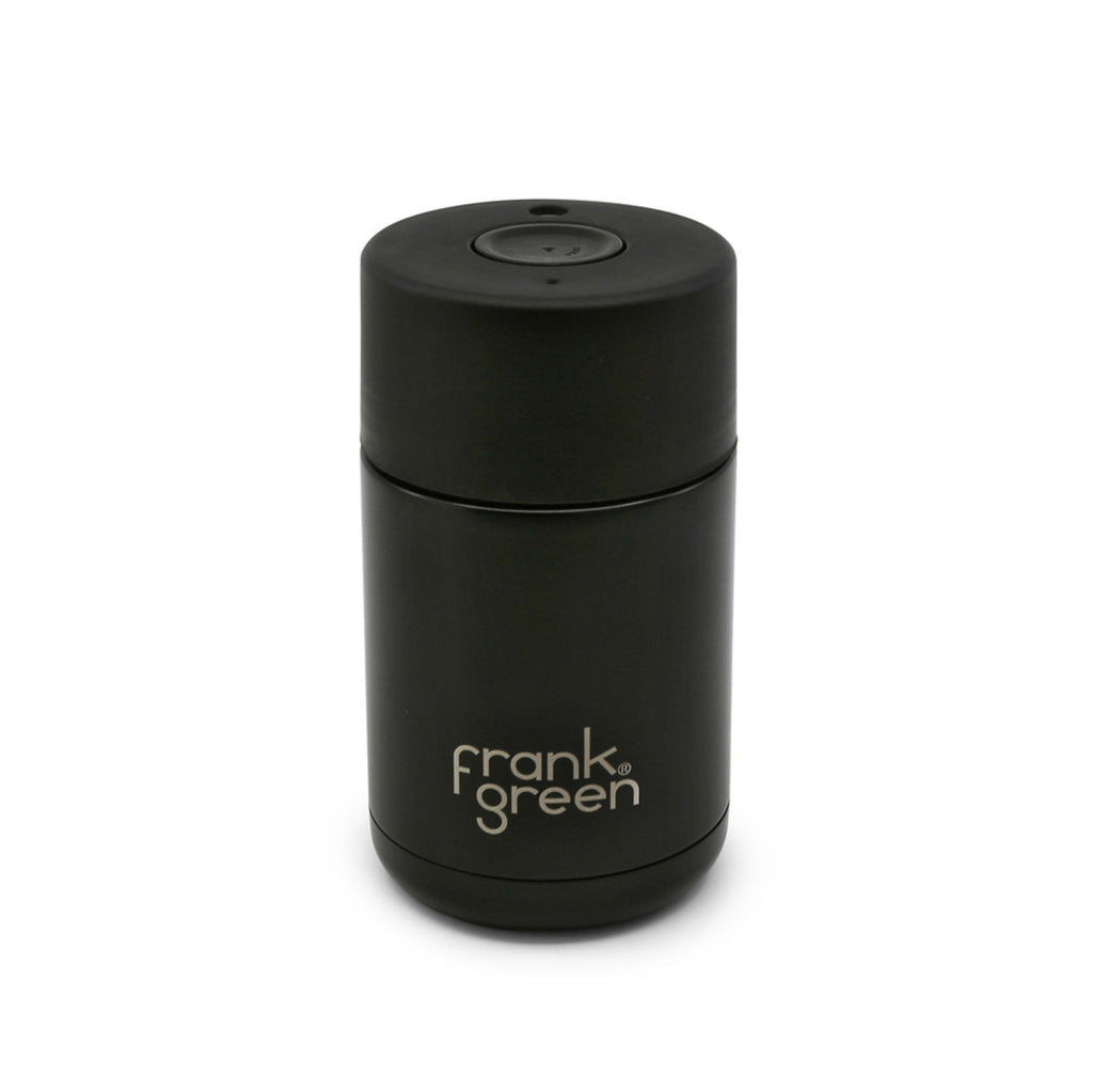 Frank Green Stainless Steel Smart Cup 10oz - Black/Black
