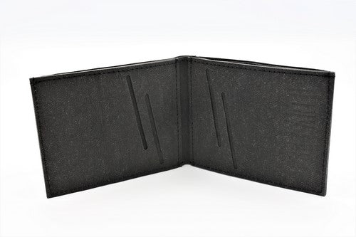 Fr33 Earth Vegan Wallet Black