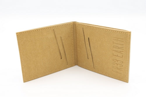 Fr33 Earth Vegan Wallet Camel