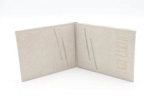 Fr33 Earth Vegan Wallet Grey