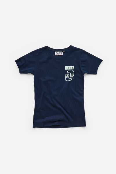 Park Social Youth T-Shirt Navy