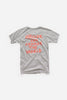 Park Social Youth T-Shirt Grey Marle