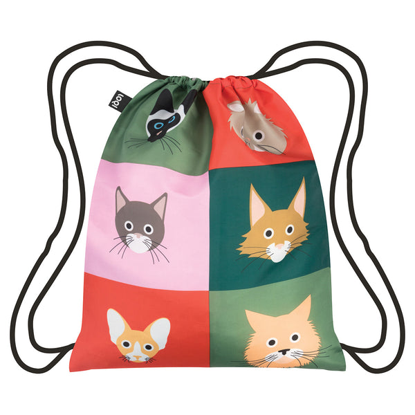 LOQI Backpack Cats and Dogs Collection