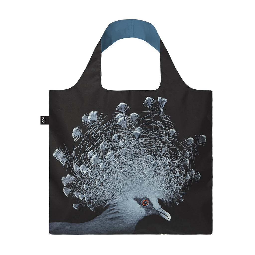 LOQI Reusable Shopping Bag Crowned Pigeon