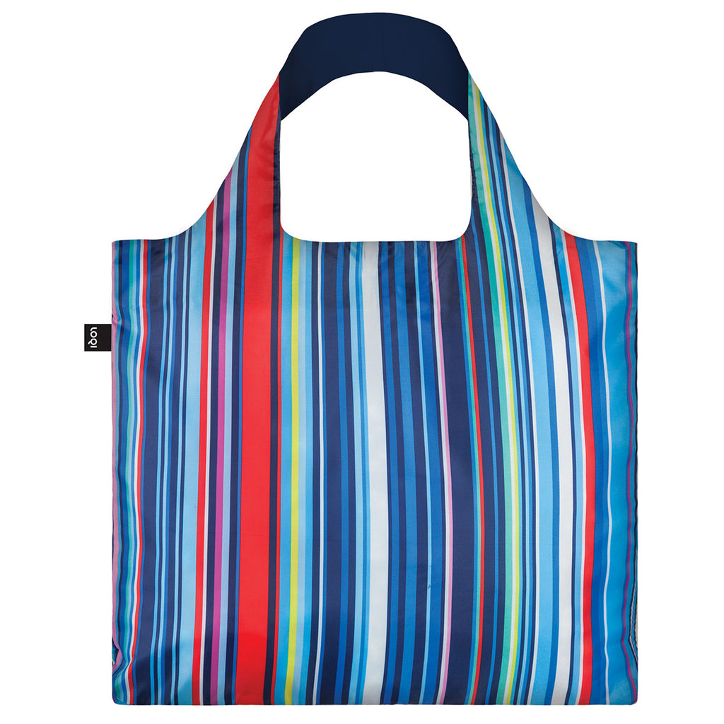 LOQI Shopping Bag Nautical Stripes
