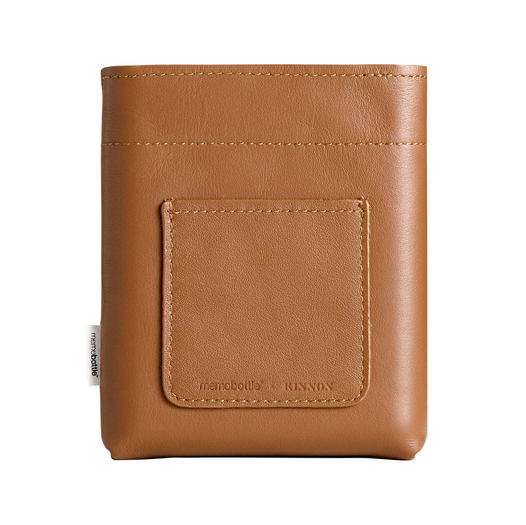 Leather Tan Sleeve for Memobottle A6