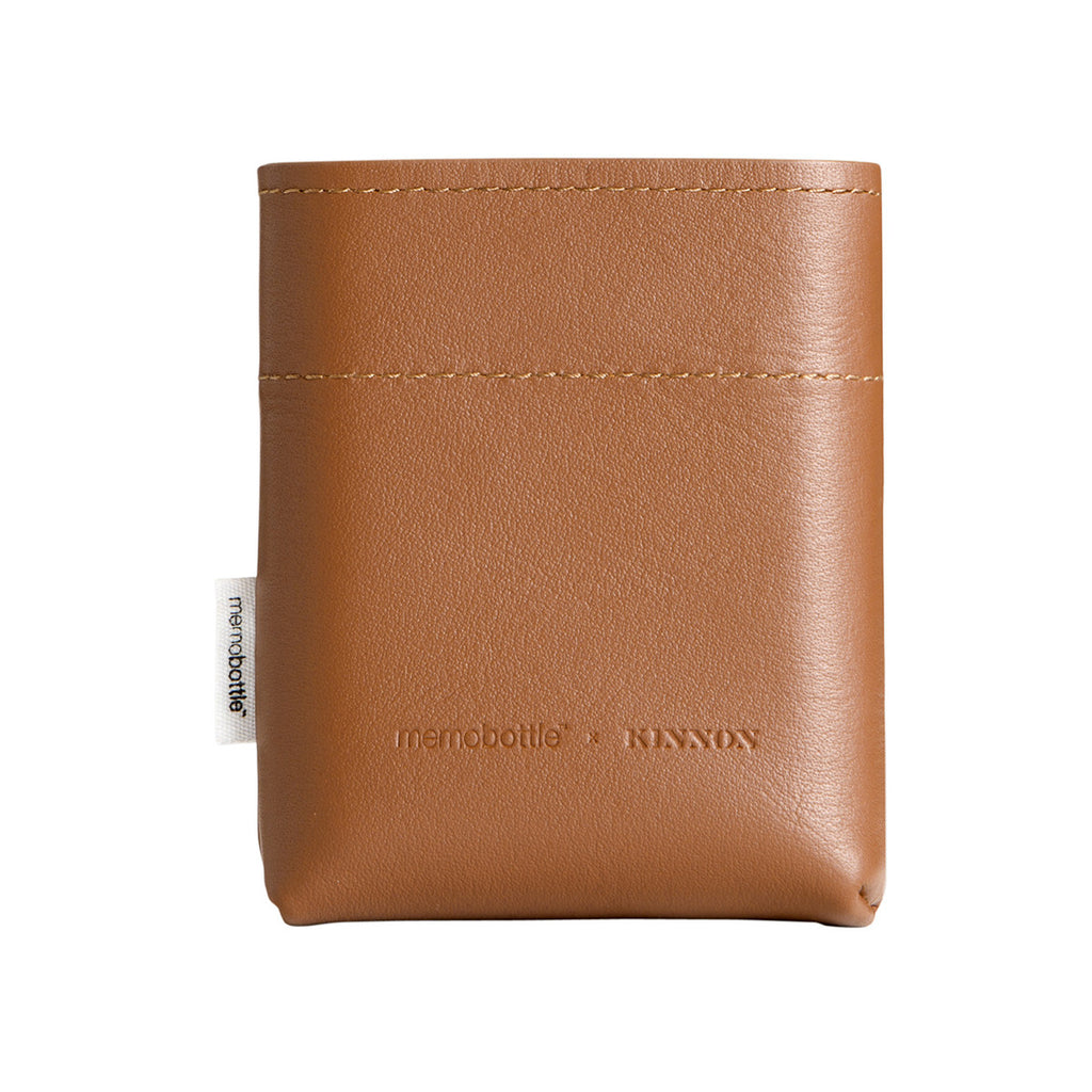 Leather Tan Sleeve for Memobottle A7