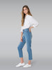 Outland Denim Abigail Crop in Morning