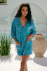 Jaase Ocean Eyes Tallow Playsuit