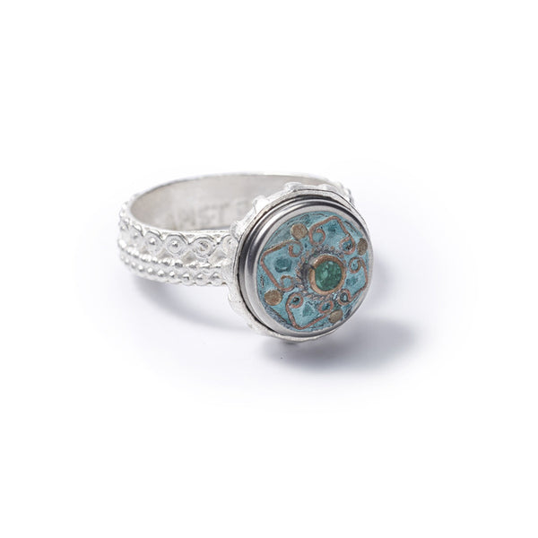 Noosa Amsterdam Petite Silver Planet Ring