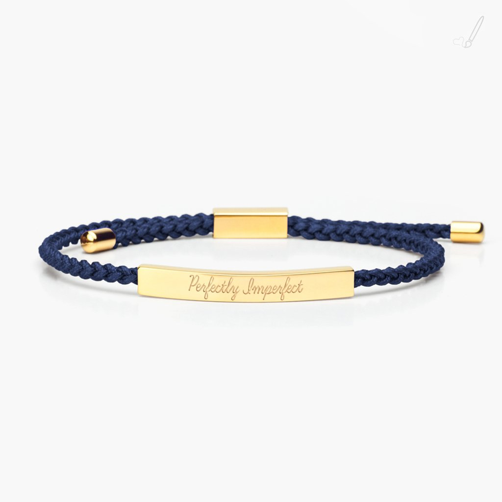 tmc - Reminder Braid - Perfectly Imperfect Gold - Navy