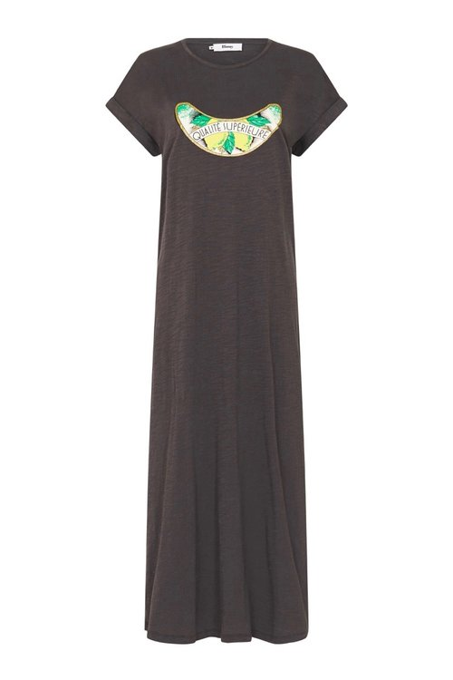 Binny Citron Charcoal Dress