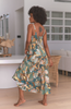 Jaase Bea Enchanted Forest Print Maxi Dress