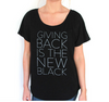 Half United Giving Back is the New Black T-shirt - BLACK