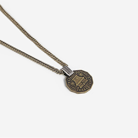 Half United The Fijian Coin Necklace