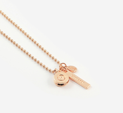 Half United Lena Necklace Rose Gold