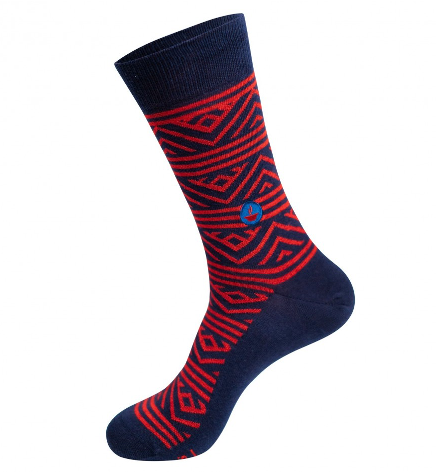 Conscious Step Socks Fight Hunger Tribal Design