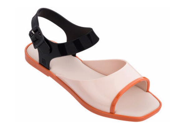 Melissa Crush Sandal Nude/Black