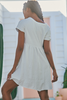 Jaase Voyage White Mini Dress