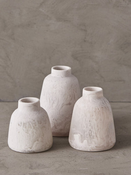 Keep Resin Vase Collection - Set of 3