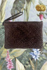 Foundling To Have & To Hold Woven Leather Clutch