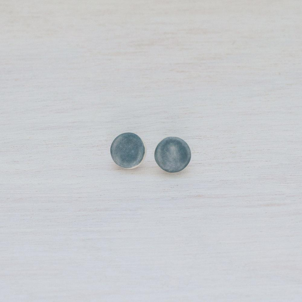 Woodfolk Mountain Dot Studs